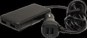 USB för baksätet - Bild från Teknikmagasinet