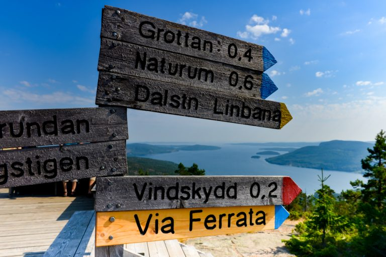 Vandring i Sverige