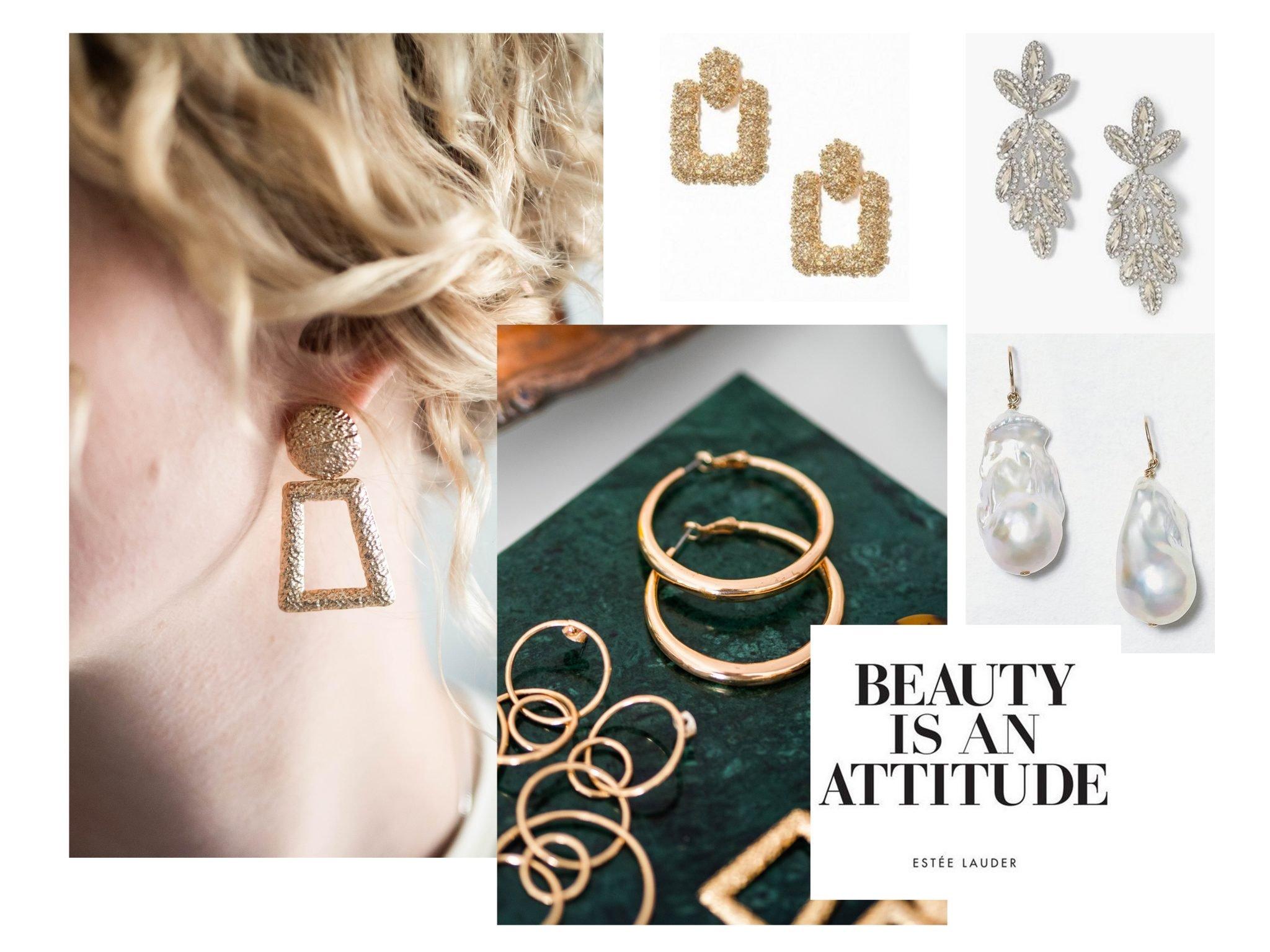 Skönhet, mode, örhänge, tips, lyx, pärlor