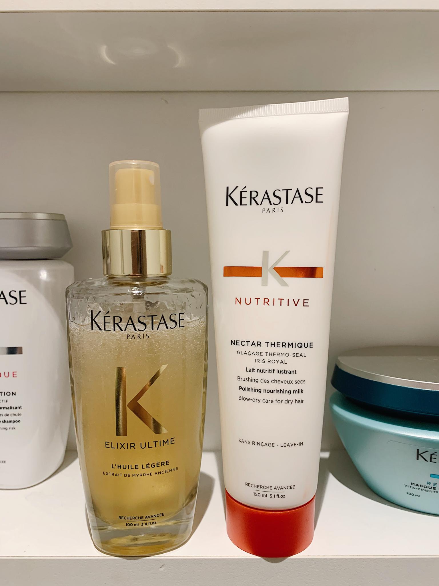 Kérastase produkter för torrt hår!