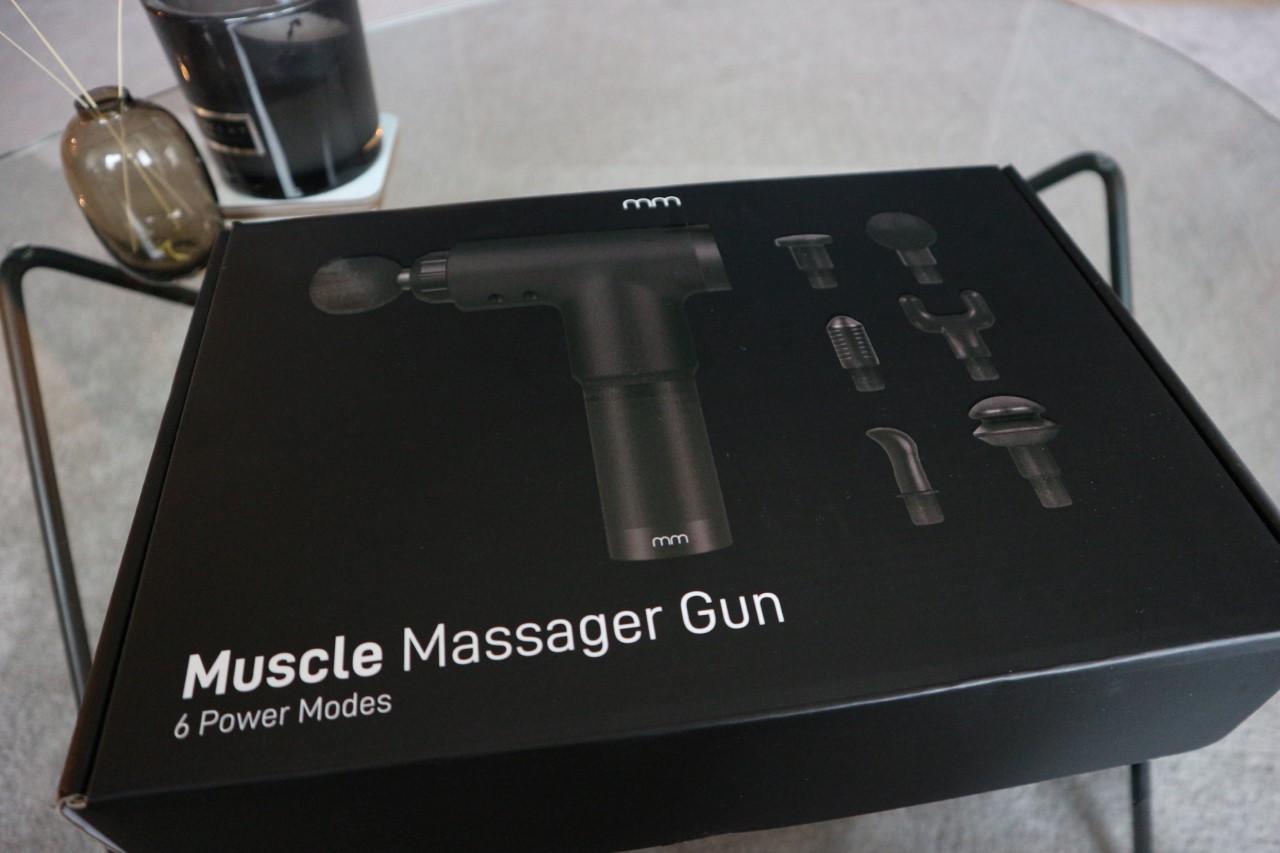 Låda Massagepistol